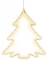 STAR Trading LED-Silhouette Lumiwall Baum 60 BS ww außen