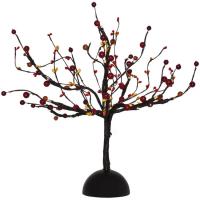 Hellum LED-Deko-Baum mit Früchten 16 BS warmweiß innen batteriebetrieben