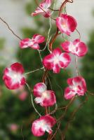Hellum LED-Lichterkette Orchideen