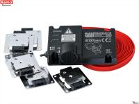 Marderabwehr Marderfrei Maderschreck KFZ batteriebetrieben mit Plus-Minus- Kontaktplatten