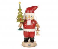 Nussknacker Weihnachtsmann Mit Baum, 14x23cm