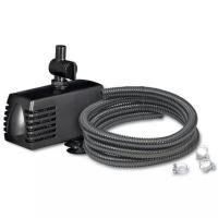 Ubbink Set SoArte® für Wasserspeier - Bestehend aus Pumpe (900l/h), Schlauch (Ø13 mm x 3 m), Schlauchschellen verzinkt (Ø13 mm, 2 x)