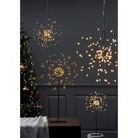 LED-Hängestern Firework 120 warmweiße LEDs