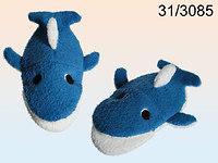 Waschhandschuh, Waschlappen Delfin 21 x 13 cm