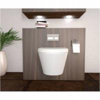 Hänge WC Modell Desin mit Soft Close Deckel abnehmbar