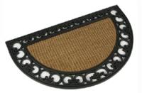 Schmutzmatte Fußmatte Fußabtreter Türmatte Kokosfaser halbrund