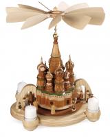 Müller-Kleinkunst aus dem Erzgebirge® seit 1899 Bogenpyramide Basilius-Kathedrale