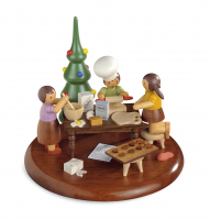 Motivplattform für Elektr.Spieldosen, Rolf Zuckowski Edition IN Der Weihnachtsbäckerei, 13cm