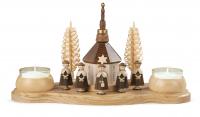 Müller-Kleinkunst aus dem Erzgebirge Kerzenhalter Seiffener Kirche