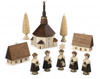 Kurrende Seiffener Kirche natur