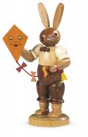 Müller-Kleinkunst aus dem Erzgebirge® seit 1899 Hase mit Drachen