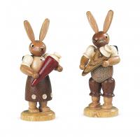 Müller-Kleinkunst aus dem Erzgebirge® seit 1899 Hasenschulanfängerin